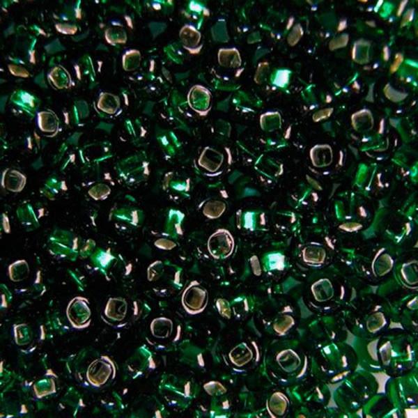 Бисер чешский для рукоделия Preciosa (Прециоза) оригинальный 5г 33129-57060-10 Зеленый