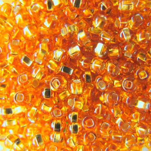 Бисер чешский для рукоделия Preciosa (Прециоза) оригинальный 5г 33129-17070-10 Янтарный