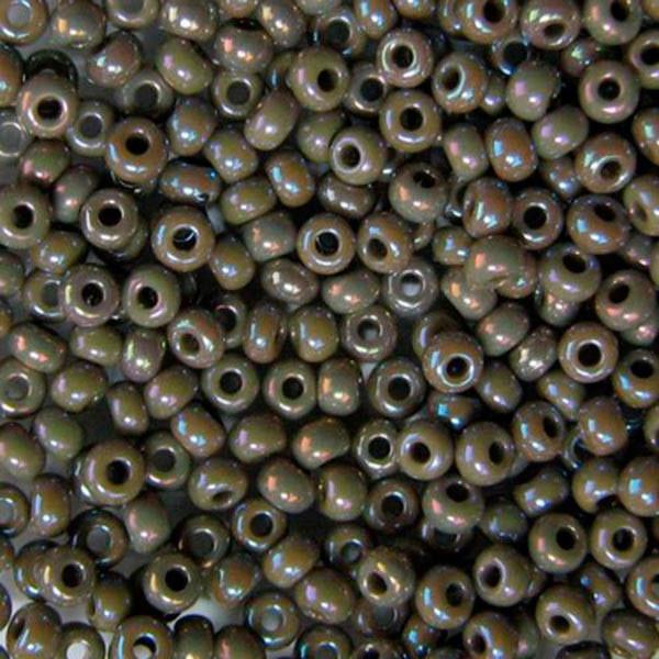 Бисер чешский для рукоделия Preciosa (Прециоза) оригинальный 5г 33119-44020-10 Серый