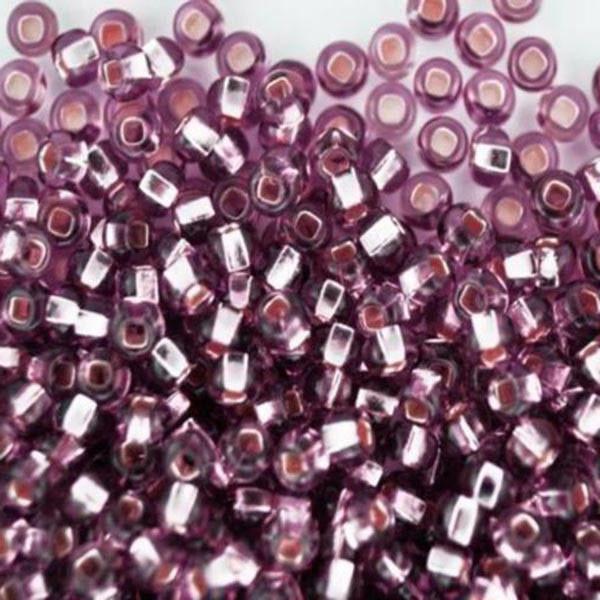 Бисер чешский для рукоделия Preciosa (Прециоза) оригинальный 5г 33129-27010-10 Фиолетовый