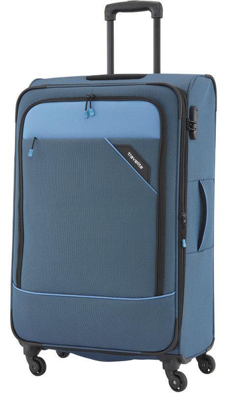 Тканевый чемодан средний Travelite Derby TL087548-20 69, синий