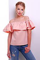 Блуза 1734 персик