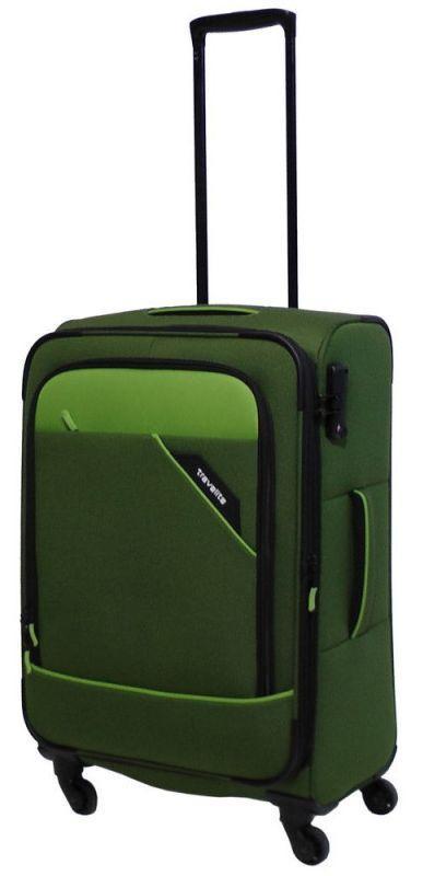Чемодан средний тканевый Travelite Derby TL087548-80 69, зеленый