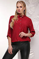 Блуза 1770 бордовый