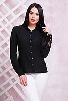 Блуза 1716 черный