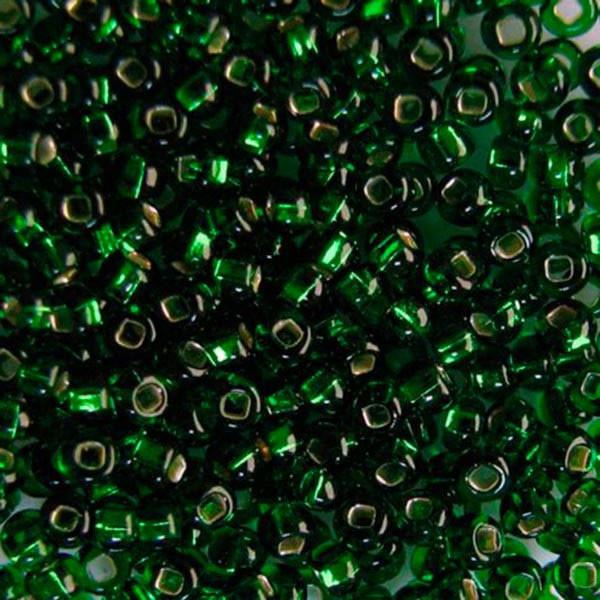 Бисер для вышивания. Чехия  Preciosa (Прециоза) оригинал. 5г 33129-57120-10 Зеленый