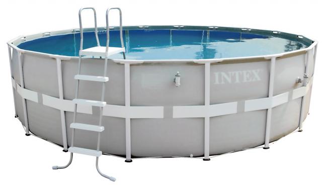 Бассейн Intex 28326 (488*122 см) с картриджным фильтром и хлоргенератором