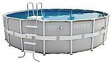 Каркасный круглый Бассейн Intex 28326 (488*122 см) с картриджным фильтром и хлоргенератором, фото 2