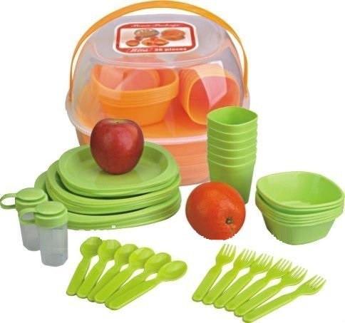 Набор посуды для пикника Sun Rise 48 предметов 48-OM