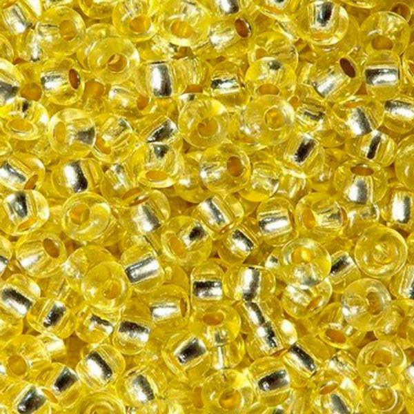 Бисер чешский Preciosa (Прециоза) оригинальный 5г 33119-08283-10 Желтый