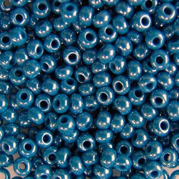 Бісер чеський Preciosa (Прециоза) оригінальний 5г 33119-68080-10 Синій
