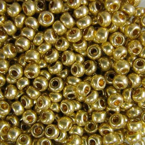 Бисер чешский Preciosa (Прециоза) оригинальный 5г 33119-18151-10 Зеленый