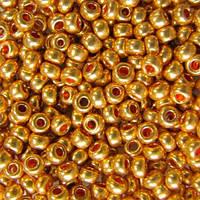 Бисер чешский Preciosa (Прециоза) оригинальный 5г 33119-18581-10 золотистый
