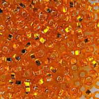 Бісер чеський Preciosa (Прециоза) оригінальний 5г 33129-87060-10 помаранчевий