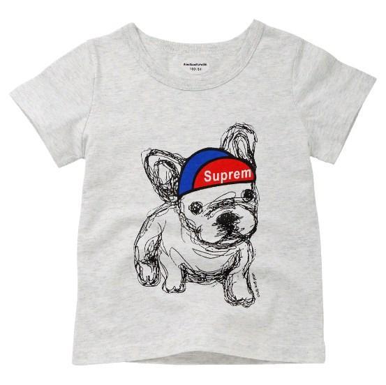 Футболка Собака в кепке (сер)