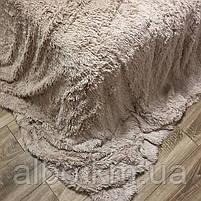 Покривало на диван ліжко з великим ворсом, якісний плед на диван ліжко, хутряне покривало на диван ліжко, покривало травичка на, фото 3