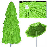 Пляжний зонт ГАВАІ 1,6м. Гавайська пляжна парасолька 160см, фото 6