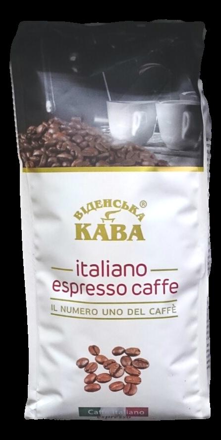 Кофе в зернах Віденська кава Italiano Espresso 1кг