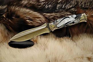 """Охотничий нож ручной работы """"Valor"""", N690, фото 3"""