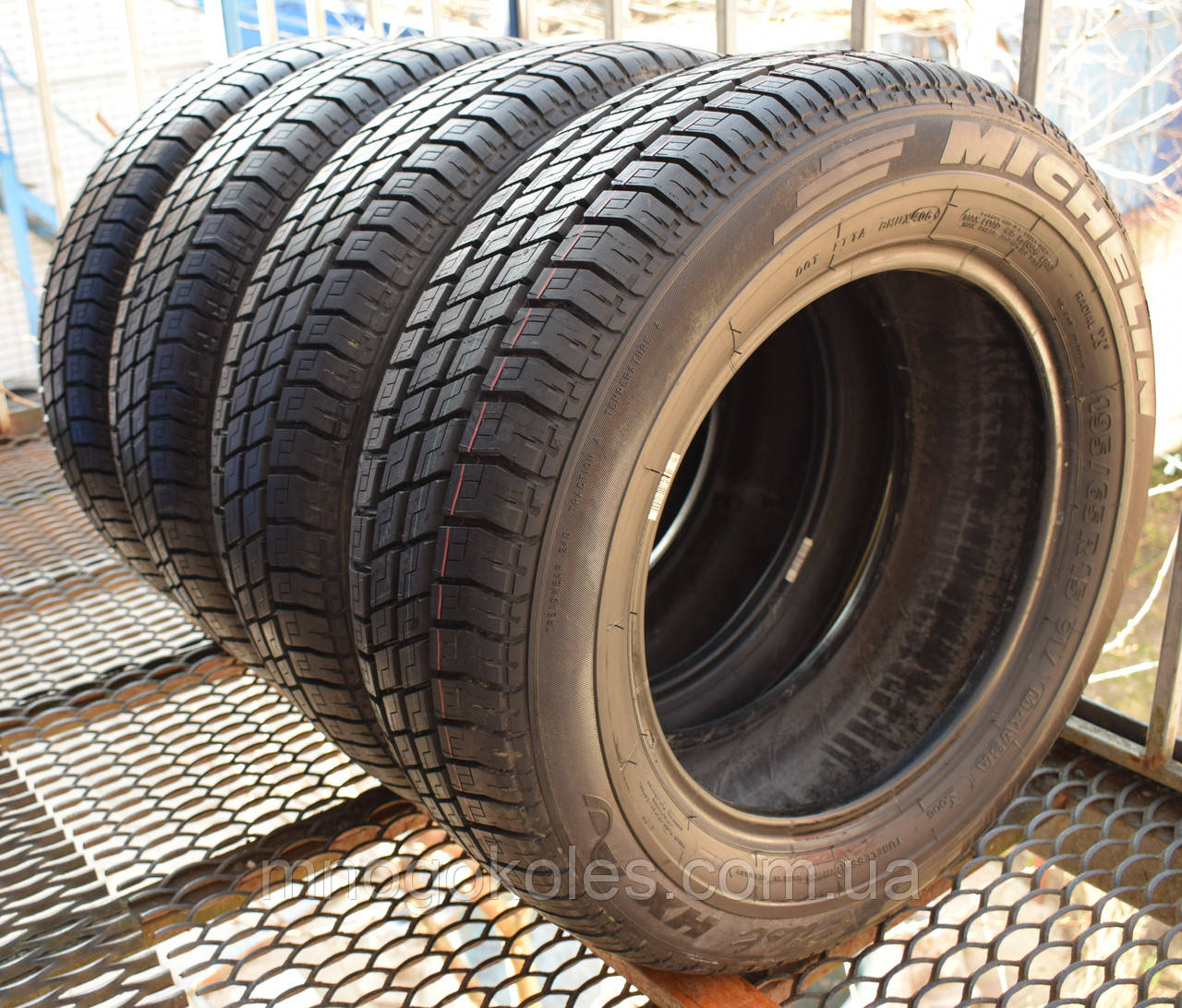 Шины б/у 195/65 R15 Michelin Pilot HX, ЛЕТО, 8 мм, комплект