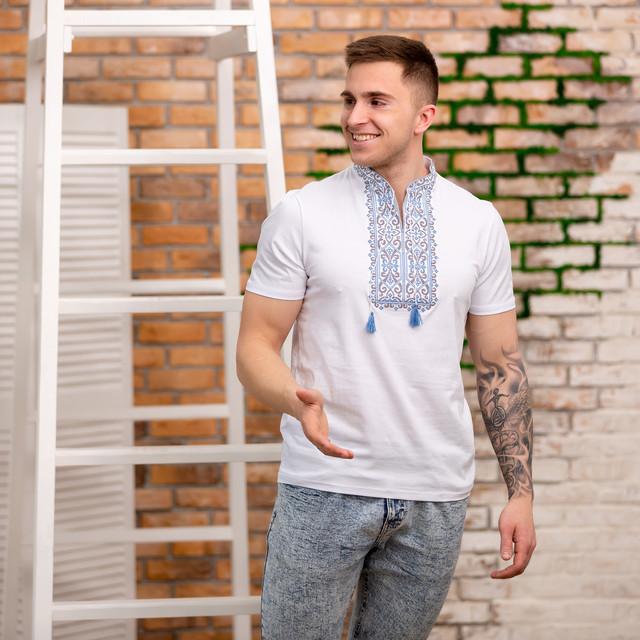 Мужская футболка вышиванка