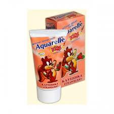 Зубная паста Акварель детская  50 мл в ассортименте