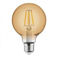 Филаментная лампа Led Biom FL-420 G95 8W E27 2300K (Бронзовое стекло)