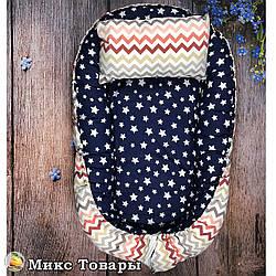 Матрас для малыша и подушка Размер: 55- 68 см (8396)