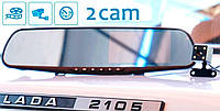Видеорегистратор Зеркало Blackbox DVR Заднего Вида + Камера Заднего Вида. Авторегистратор. Гарантия 1 Год.