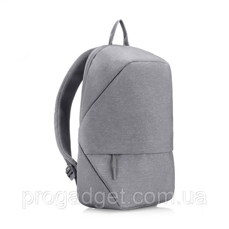 Рюкзак minimalist urban casual business для 15,6-дюймового ноутбука gray (серый) для школьников и бизнесменов
