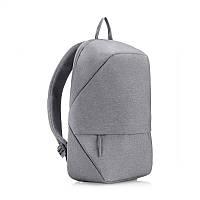Рюкзак minimalist urban casual business для 15,6-дюймового ноутбука gray (серый) для школьников и бизнесменов, фото 1