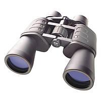 Лучший бинокль для охотника Bresser 8-24x50, оптический зум, высокая светосила, коррекция диоптрия, чехол