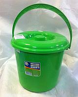 Ведро пластиковое с крышкой  5л АЛЕАНА, фото 1