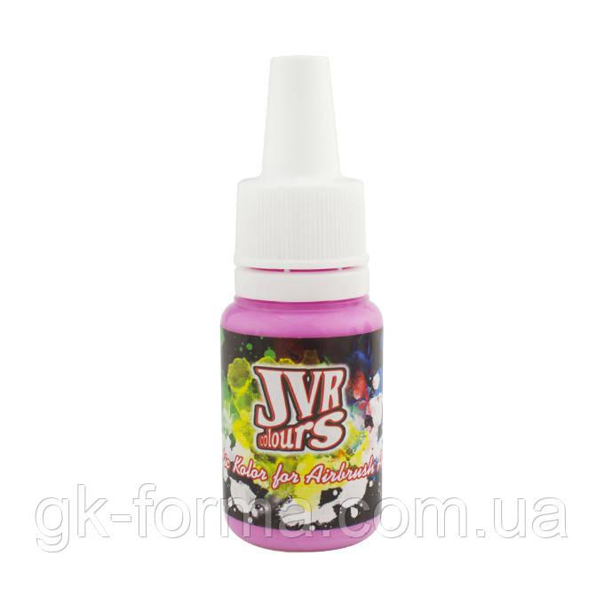 Краска JVR Revolution Kolor розовая №127, 10мл