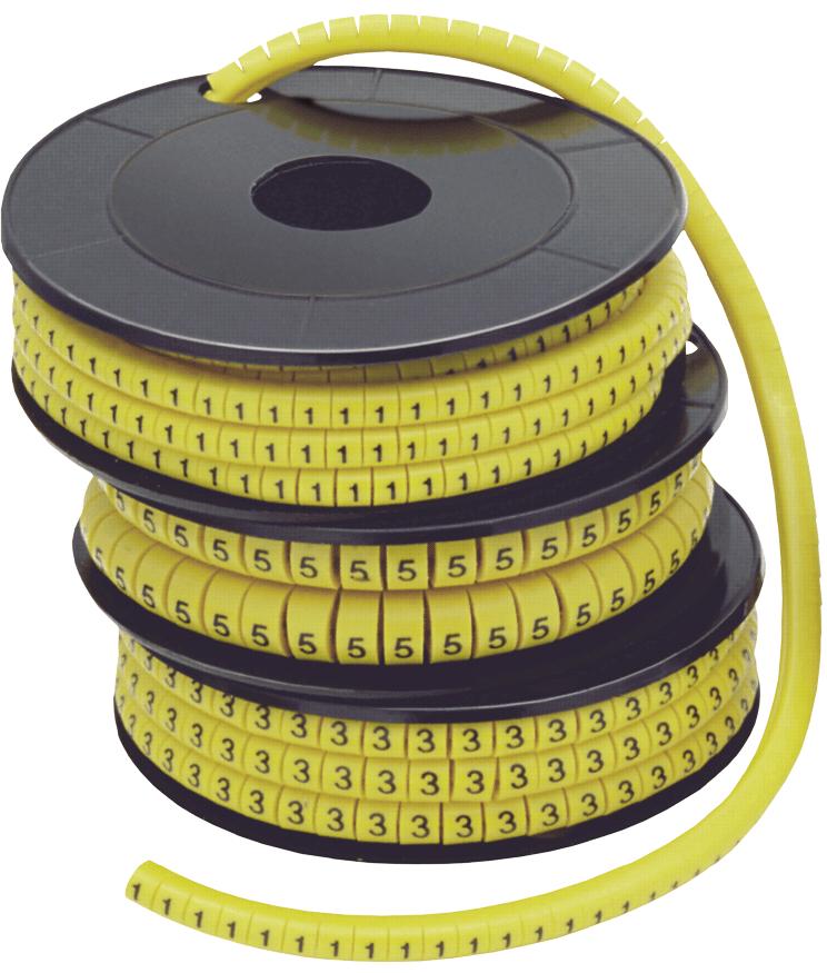 """Маркер МК2- 4мм символ """"9""""  500шт/ролл"""