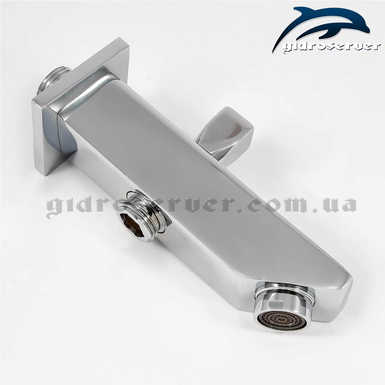 Излив (гусак) для душевой системы, душевого гарнитура скрытого монтажа IL-06.