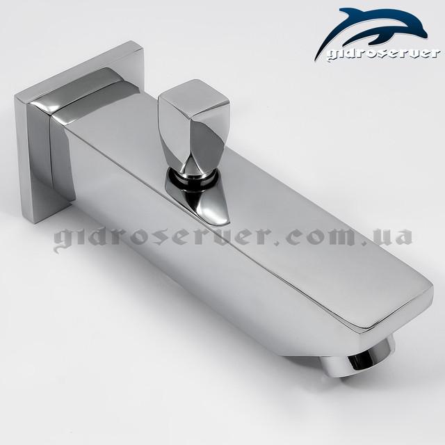 Излив для душевой системы скрытого монтажа IL-06 латунный с переключателем на лейку ручного душа.