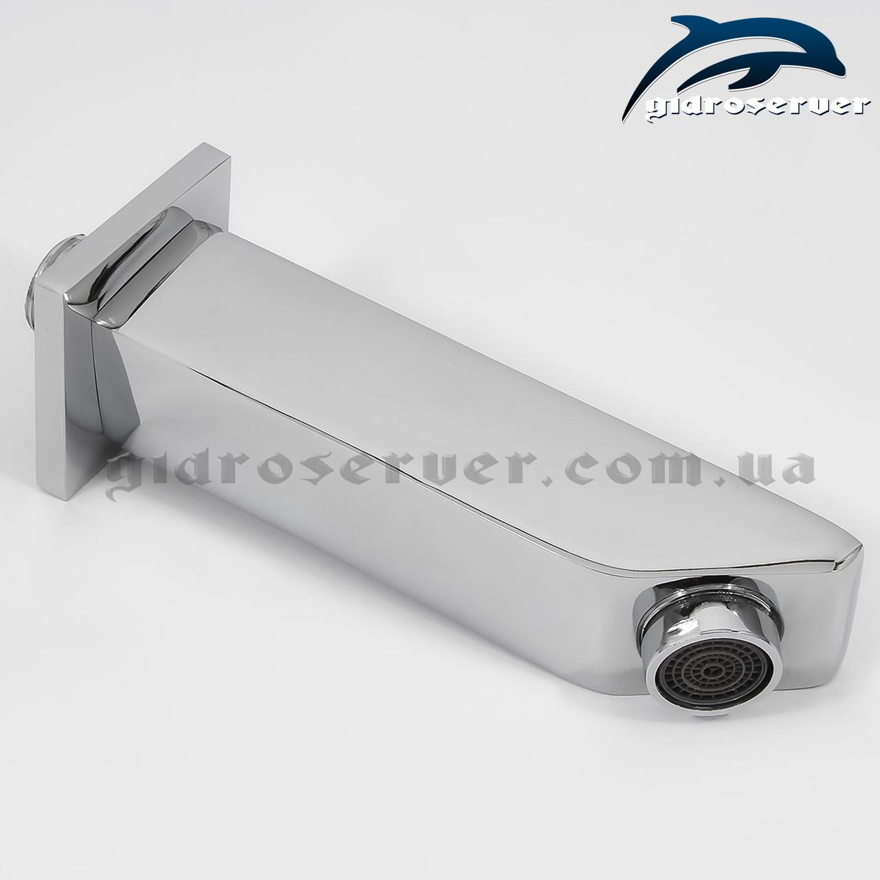 Излив (гусак) для душевой системы, душевого гарнитура скрытого монтажа IL-07.