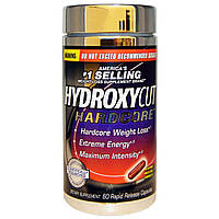 Hydroxycut, Hardcore, 60 капсул с быстрым высвобождением