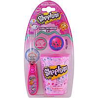 Brush Buddies, Шопкинсы, набор для чистки зубов, мягкая щетка, набор из 3 предметов