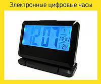 Электронные цифровые часы термометр будильник 2116!Акция