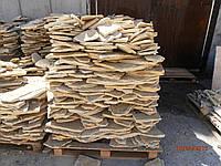 """Песчаник желто-коричневый """"Дикарь"""" Ямпольский 10-30 мм облицовочный камень"""
