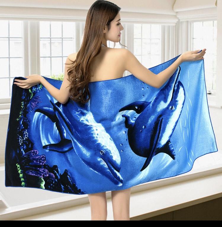 Полотенце банное Море