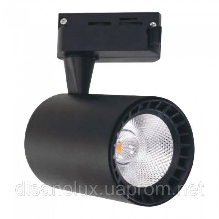 """Светильник светодиодный трековый на шинопровод """"LYON-10"""" 10W  черный 4200К"""