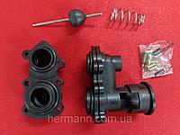 Передняя и задняя часть гидроблока в комплекте Demrad Kalisto Mono HK | BK D, Nitron HK | BK F