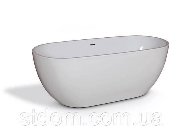 Отдельностоящая овальная ванна 168*73 см Aqua-World АВ421-1 белая