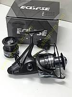 Катушка Eclipse TB-12 FR 4000 (9+1) с байтранером Алюминиевая шпуля