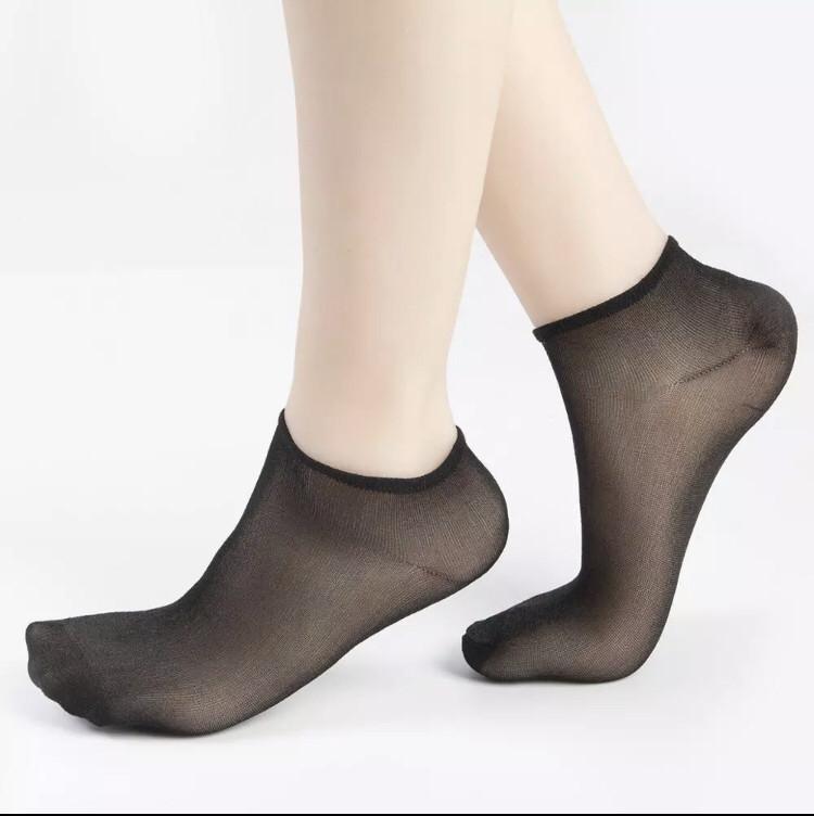 Носки капроновые 40DEN Jujube Черные (100 пар)