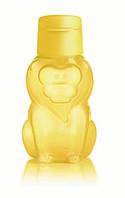 Бутылка Эко Львенок 350 мл с клапаном Tupperware в желтом цвете