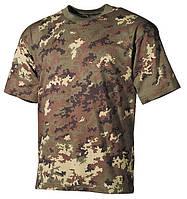 Армейская футболка  USA  vegetato, 100 % cotton